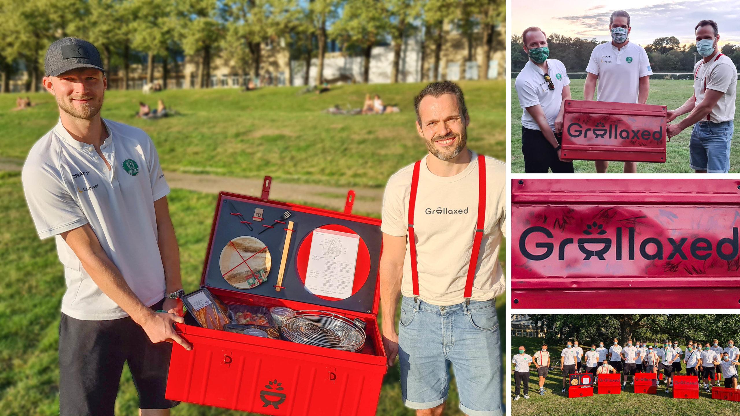 GRILLAXED startet Crowdfunding und unterstützt den DHfK-Nachwuchs!