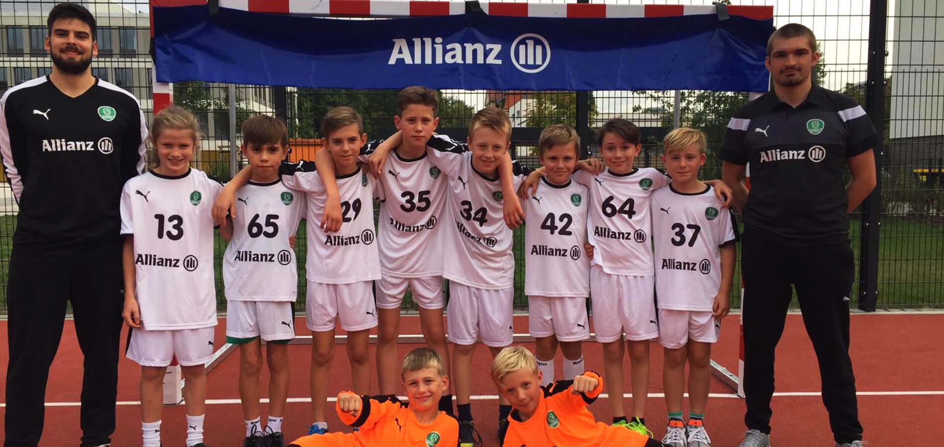 Das Team der E1-Jugend