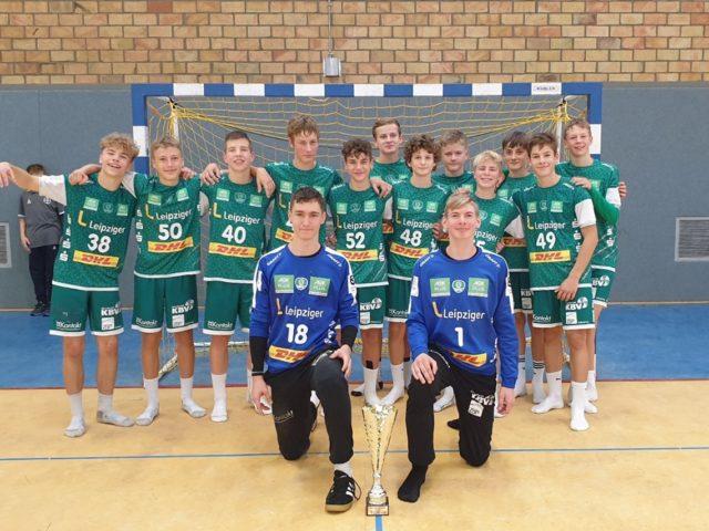 C-Jugend gewinnt Leistungsturnier in Magdeburg