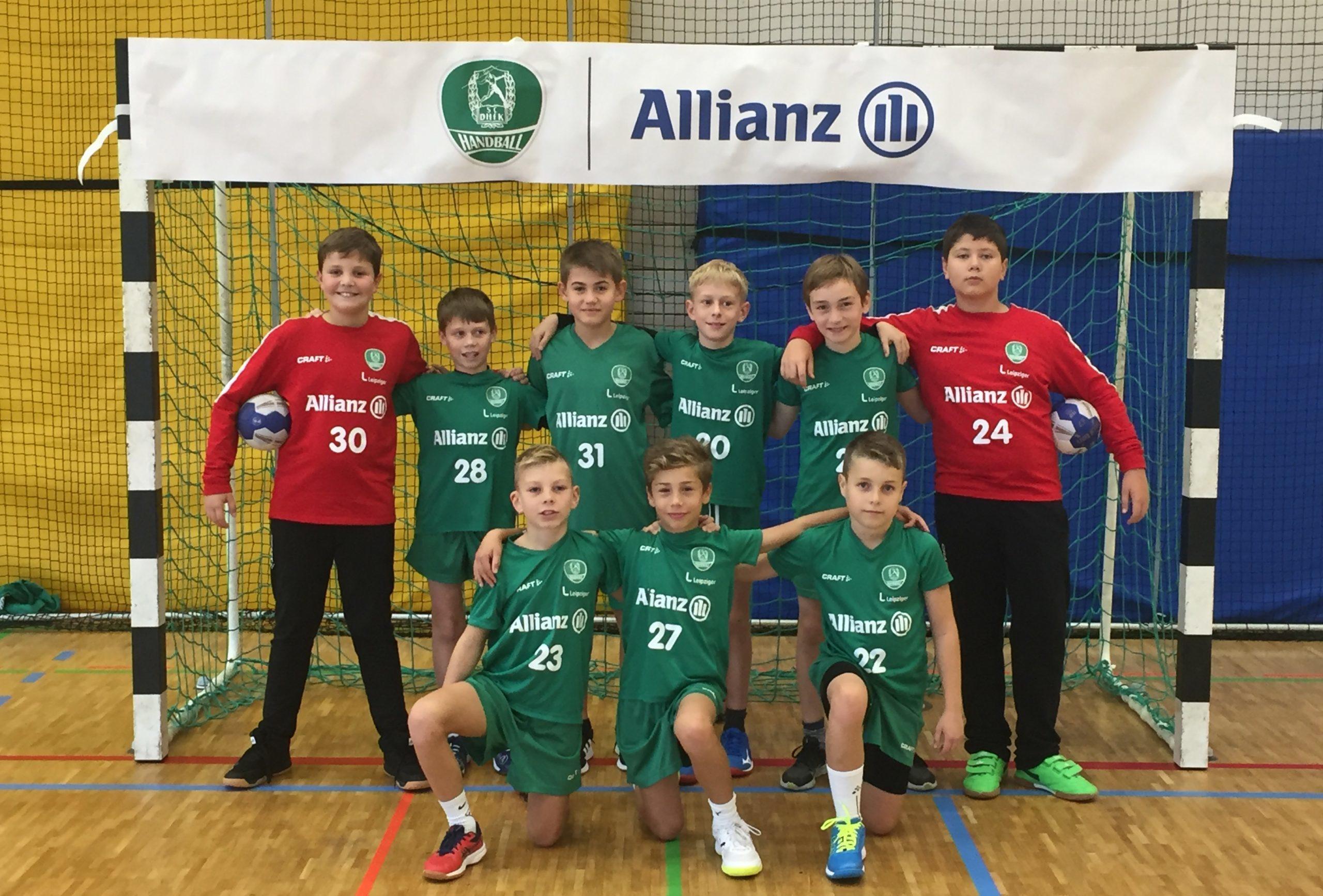 Das Team der D2-Jugend